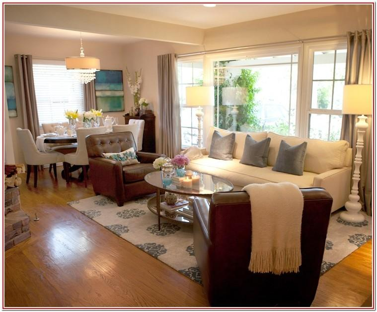 Decorating Open Floor Plan Living Room And Dining Room