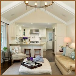 Decorating Small Open Floor Plan Living Room And Kitchen 1