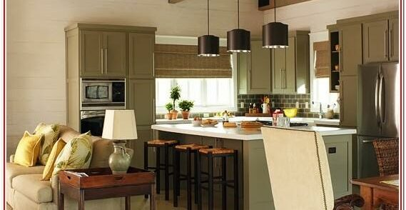 Decorating Small Open Floor Plan Living Room And Kitchen