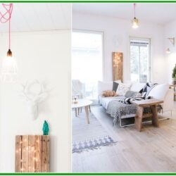 Decorating With String Lights Living Room