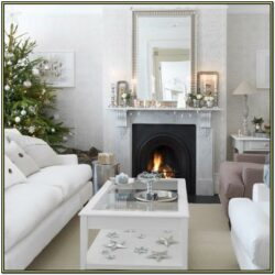 Easy Living Room Christmas Decorations