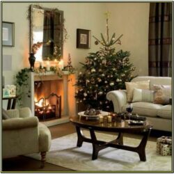 Elegant Christmas Living Room Decorating Ideas