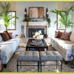 English Style Decoration Living Room