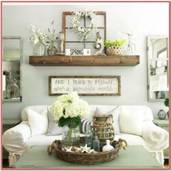 Farmhouse Rustic Living Room Wall Decor 2