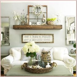 Farmhouse Rustic Living Room Wall Decor