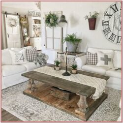 Farmhouse Rustic Living Room Wall Decor Ideas 2