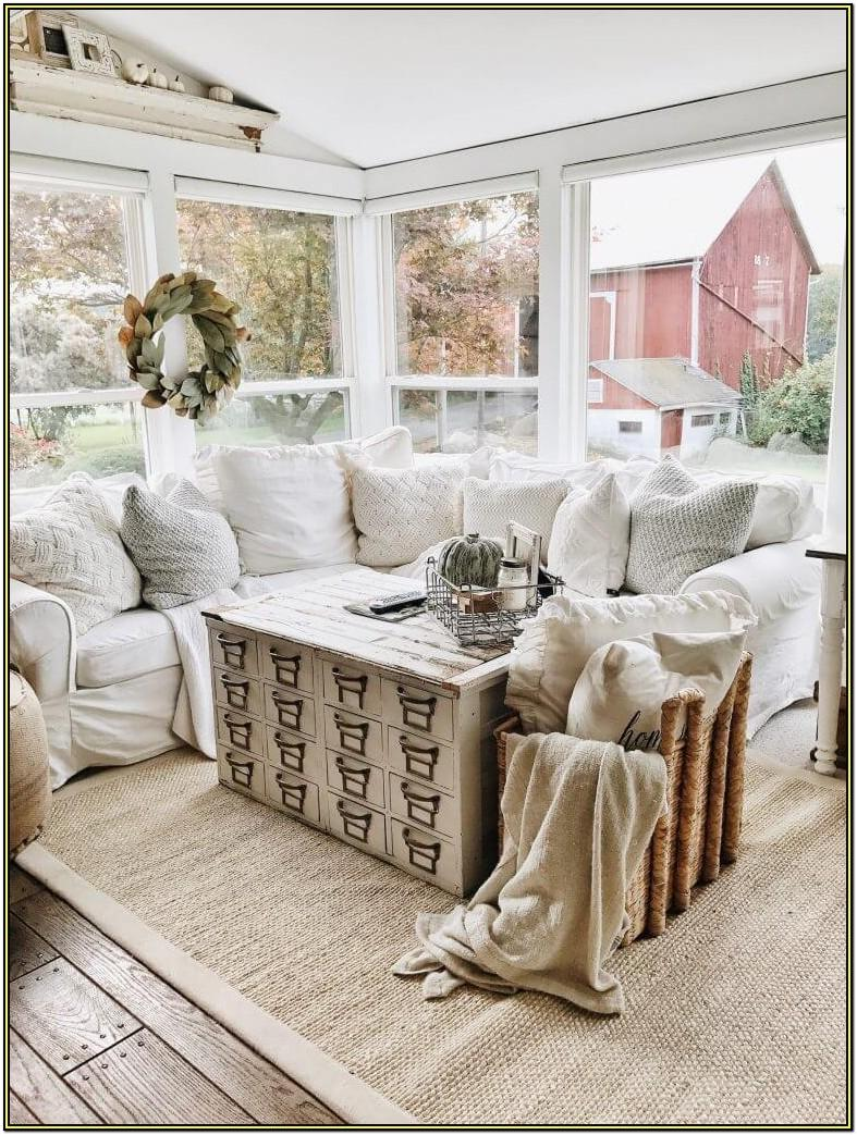 Farmhouse Style Farmhouse Living Room Wall Decor Ideas