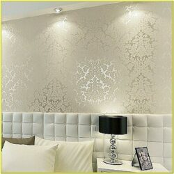 Glitter Wallpaper Living Room Ideas