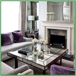Gray And Purple Living Room Decorating Ideas 1