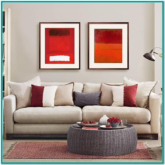 Gray And Red Living Room Decorating Ideas