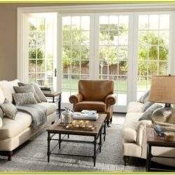 Gray Pottery Barn Living Room Ideas