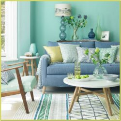 Green Living Room Decoration Ideas