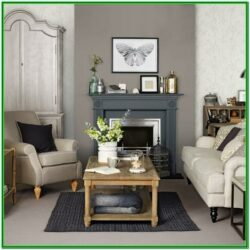 Grey And Dark Brown Living Room Ideas