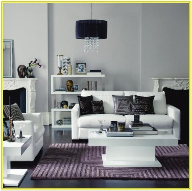 Grey And Lilac Living Room Ideas