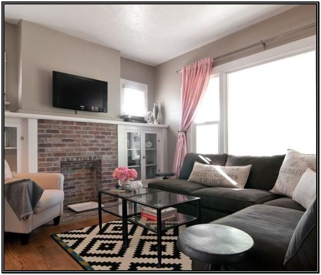 Grey Girly Living Room Ideas