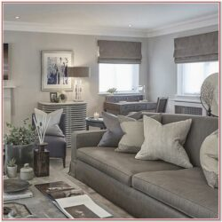 Grey Rustic Living Room Decorations
