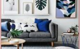 Grey Sectional Living Room Decor