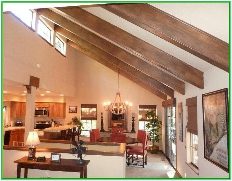 Half Vaulted Ceiling Living Room Ideas