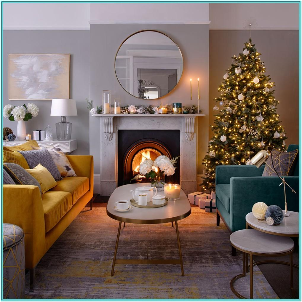 Ideas To Decorate Living Room For Christmas