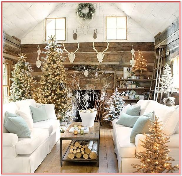 Interior Design Simple Christmas Living Room Decor