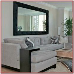 Large Mirror In Living Room Decorating