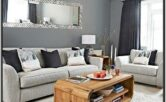 Light And Dark Grey Living Room Ideas