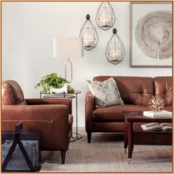 Light Brown Sofa Decorating Living Room Ideas 1