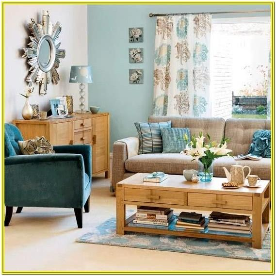 Light Gray And Teal Living Room Ideas