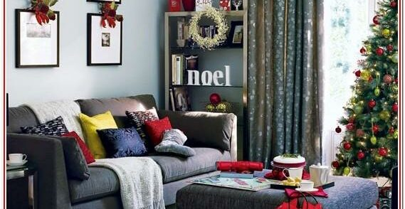 Living Room Aesthetic Living Room Christmas Decorations Indoor