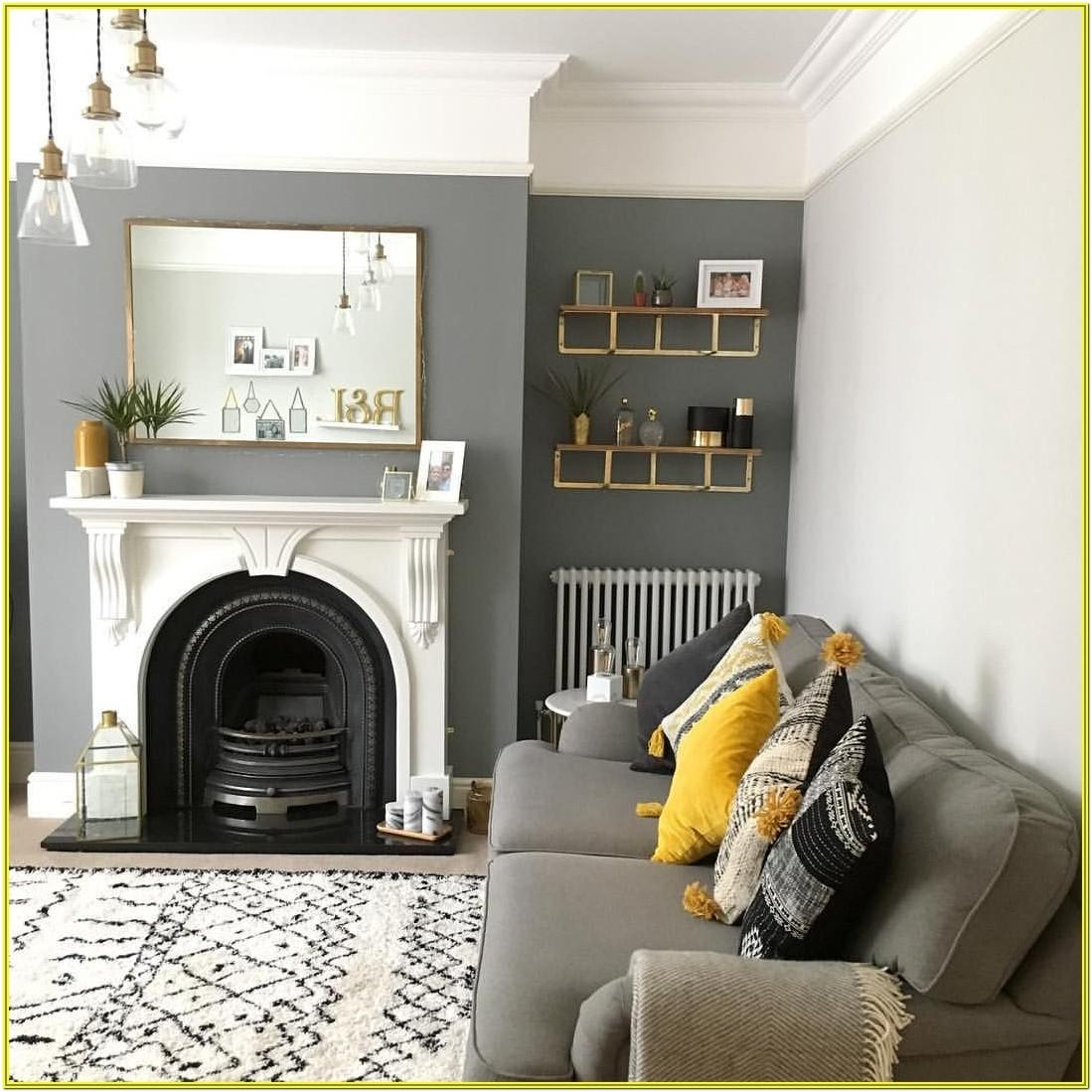 Living Room Chimney Breast Paint Ideas