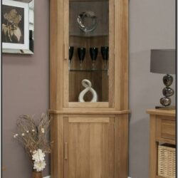 Living Room Corner Cabinet Design Ideas