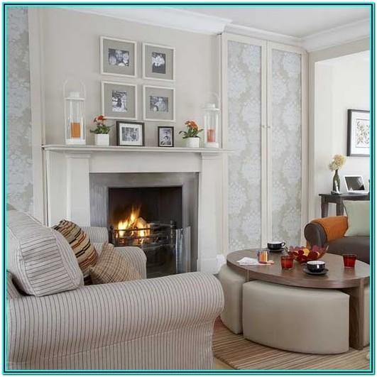 Living Room Decorating Around A Fireplace