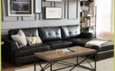 Living Room Decorating Ideas Black Leather Sofa