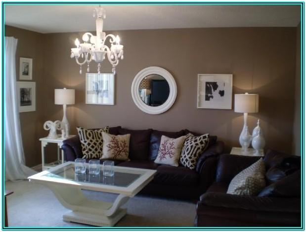 Living Room Decorating Ideas Brown Walls