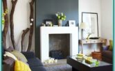 Living Room Decorating Ideas Charcoal And Chitake