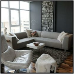 Living Room Decorating Ideas Gray Couch 1