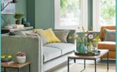 Living Room Decorating Ideas Green Sofa