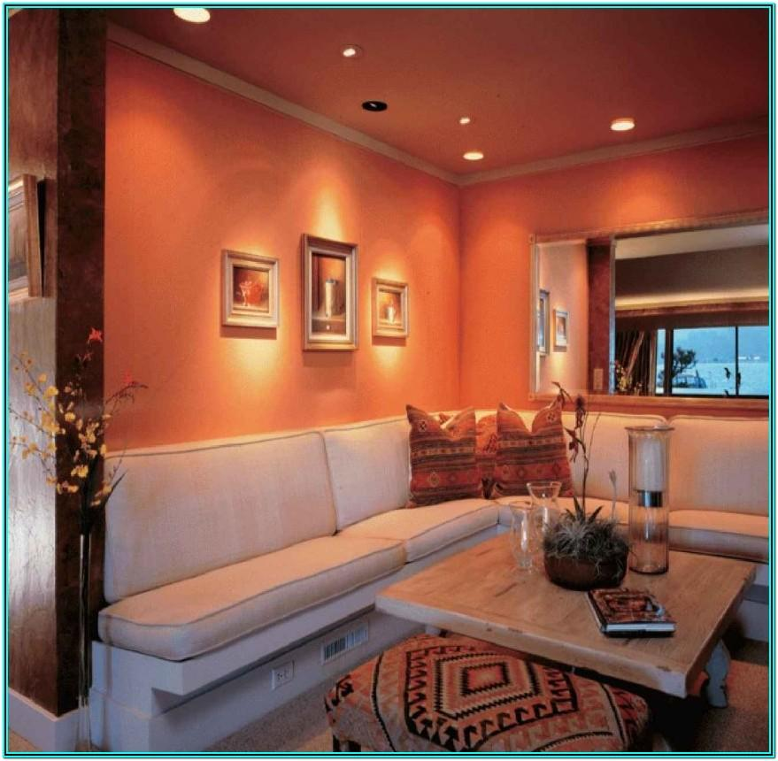 Living Room Decorating Ideas Orange Walls