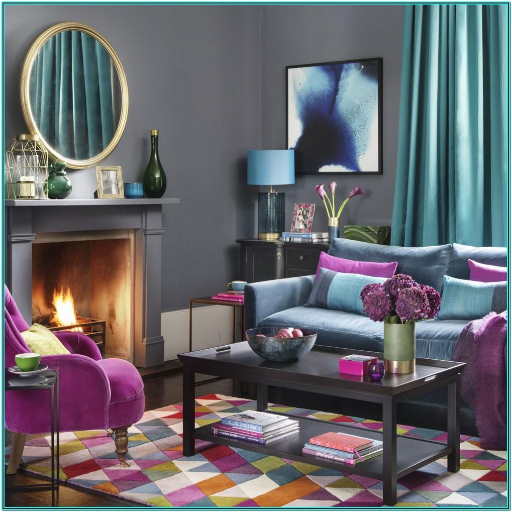 Living Room Decorating Ideas Using Jewel Tones