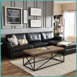 Living Room Decorating Ideas With Black Sofa