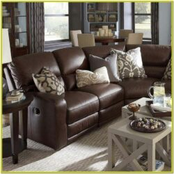 Living Room Decorating Ideas With Brown Leather Furniture 1