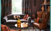 Living Room Decorating Ideas With Burnt Orange