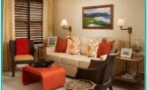 Living Room Decorating Ideas With Burnt Peach