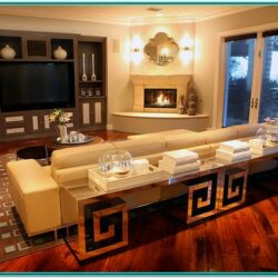 Living Room Decorating Ideas With Corner Fireplace