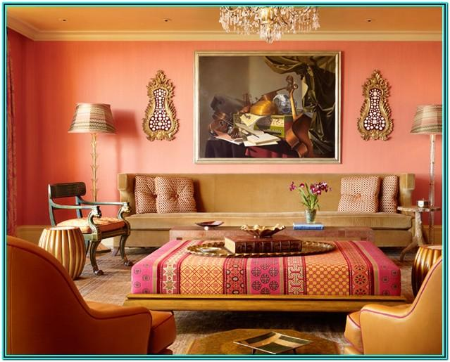 Living Room Decorating Ideas With Peach