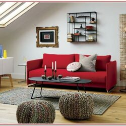 Living Room Decorating Ideas With Red Couch 1