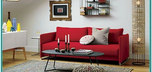 Living Room Decorating Ideas With Red Sofas