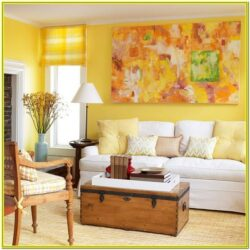 Living Room Decorating Ideas Yellow Walls