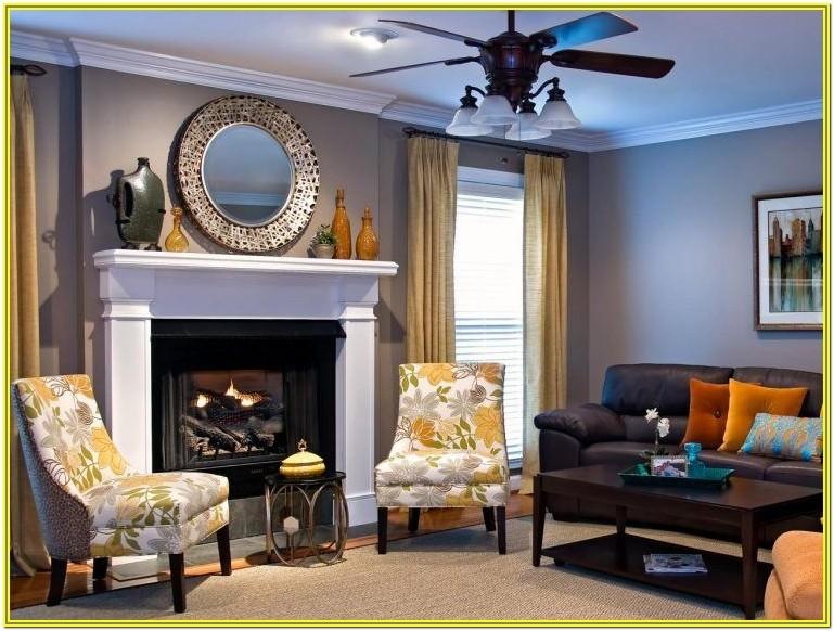 Living Room Decoration Black Gray