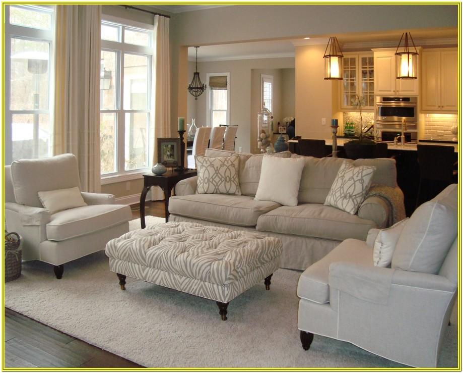 living room decoration ideas beige walls sectional